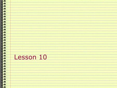 Lesson 10. Today's class  Check homework  Passive  Punctuation  Homework.