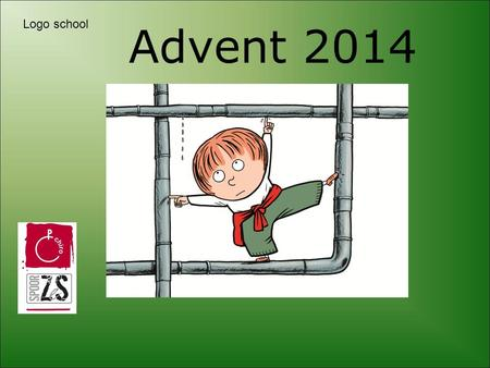 Advent 2014 Logo school.