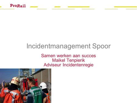 Incidentmanagement Spoor