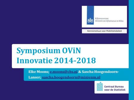 Symposium OViN Innovatie