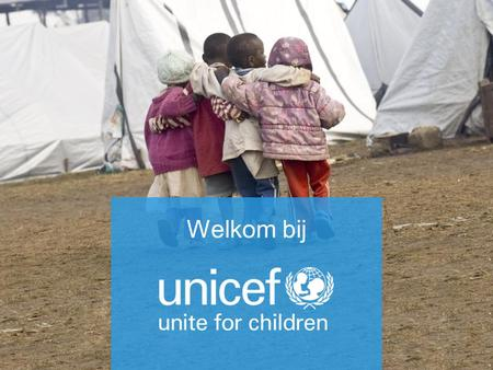 Kinderrechten in actie UNICEF Nederland 20 november 2013