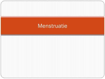 jeuk na menstruatie