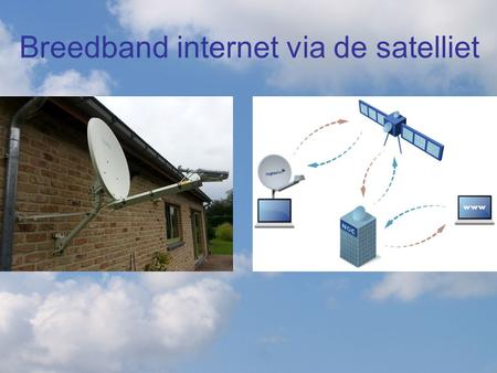 Breedband internet via de satelliet