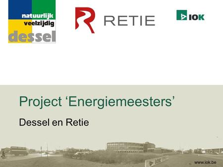 Project 'Energiemeesters'