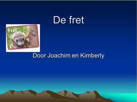 Door Joachim en Kimberly