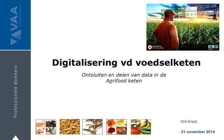 Digitalisering vd voedselketen