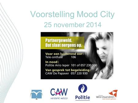 Voorstelling Mood City 25 november 2014