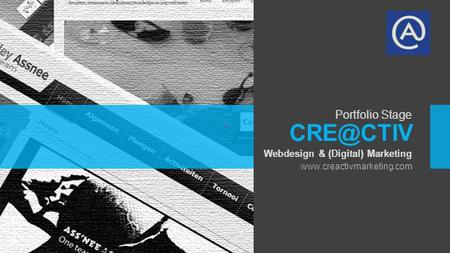 Webdesign & (Digital) Marketing Portfolio Stage