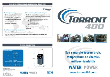 NCH BELGIUM Inc. Sphere Business Park (unit 9) Z3, Doornveld 160-162 B-1731 Zellik Tel. : 02/255 94 30 Fax : 02/252 41 40   WATER POWER.