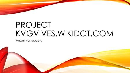 Project kvgvives.wikidot.com