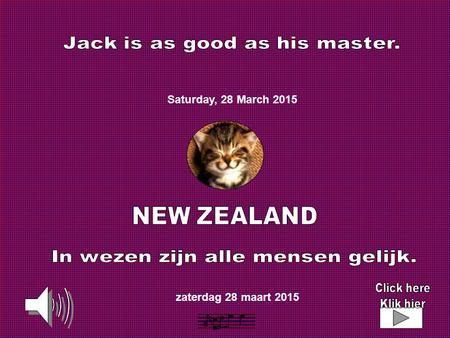 zaterdag 28 maart 2015 Saturday, 28 March 2015.