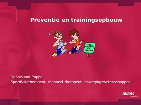 Preventie en trainingsopbouw