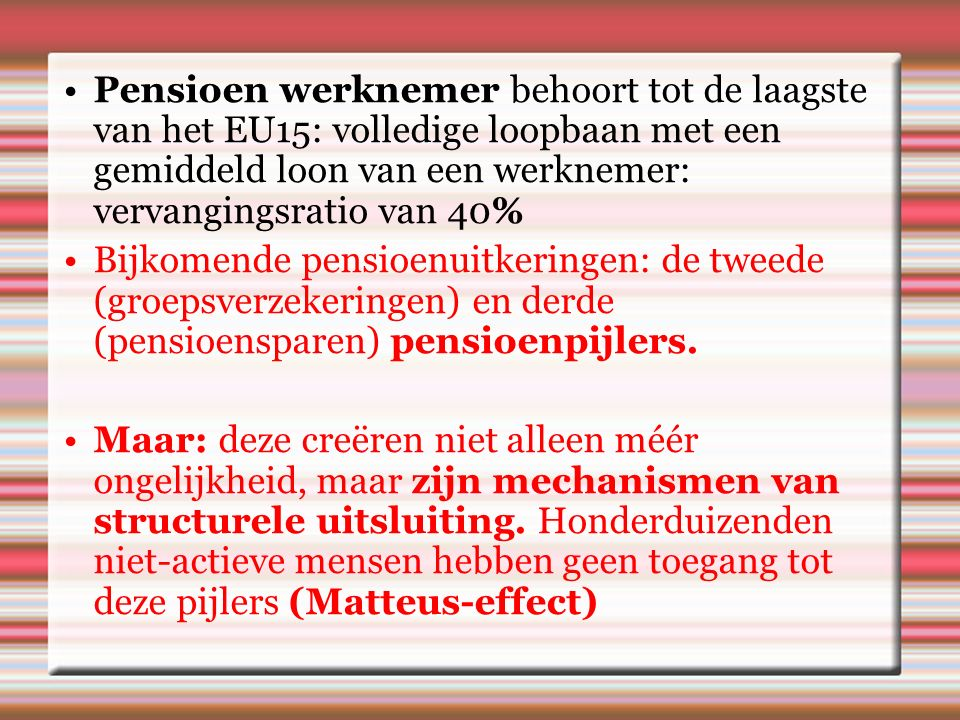 3.Faire Fiscaliteit.