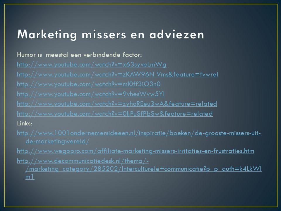 Internationale marketingmix