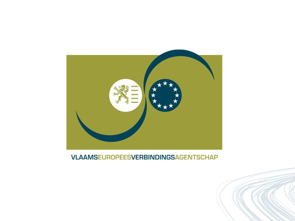vleva: rol in en reflecties op de Europese O&O&I-programma's Jan Buysse, algemeen directeur