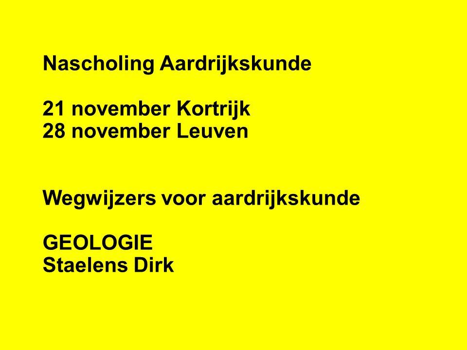 Dirk Staelens Licentie Aardrijkskunde 1980 (R)UG Sinds 1981 in het onderwijs Vanaf 1985 in het VTI Roeselare Onderwezen vakken: - Wiskunde en Fysica in sociale promotie - Wiskunde, Economie en MAVO in het Beroepsonderwijs - Aardrijkskunde, Geschiedenis en Fysica in het TSO Sinds 1994 enkel 3° graad TSO - 14 uur Aardrijkskunde - 5 uur Geschiedenis - 1uur vakcoördinator Aardrijkskunde, Geschiedenis, MAVO