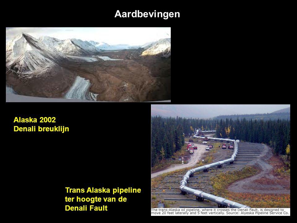 Besluit: Aardbevingen en vulkanen komen samen voor op lange lijnstructuren.