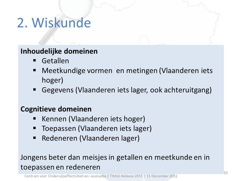 Overige  Vlaamse leerlingen minder ver qua rekenvaardigheden bij start van L.O.