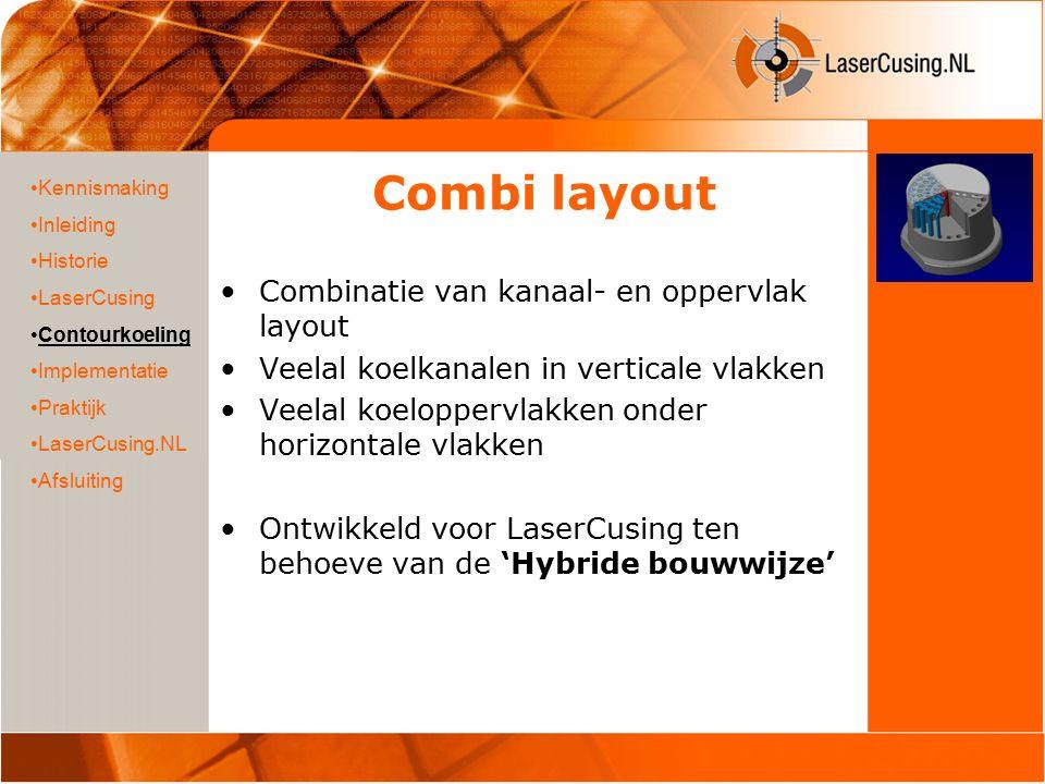 Implementatie LaserCusing is door de volledige versmelting een relatief langzame productie techniek.