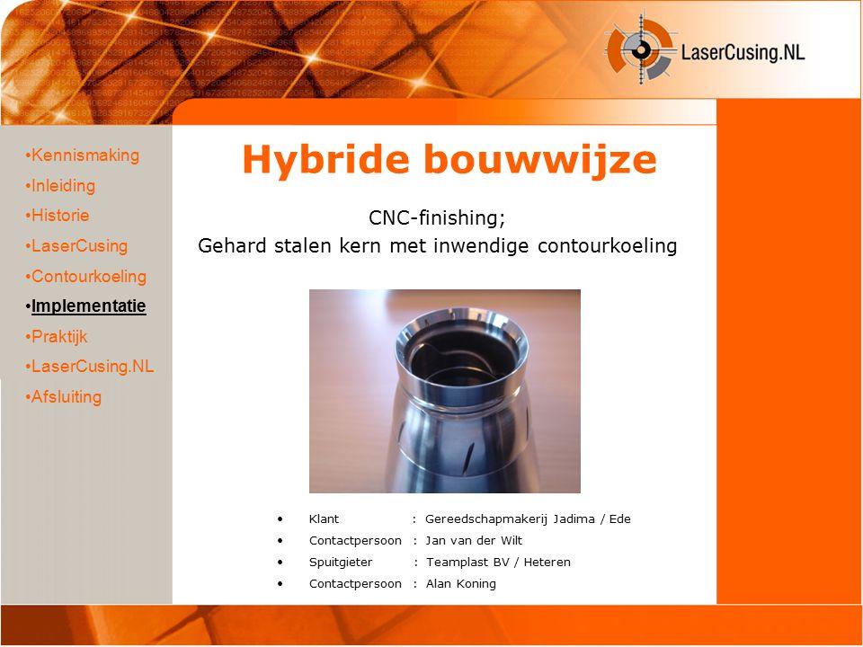 Mouldmaterial Steel 1.2344Standard coolingConformal coolingReduction Max.