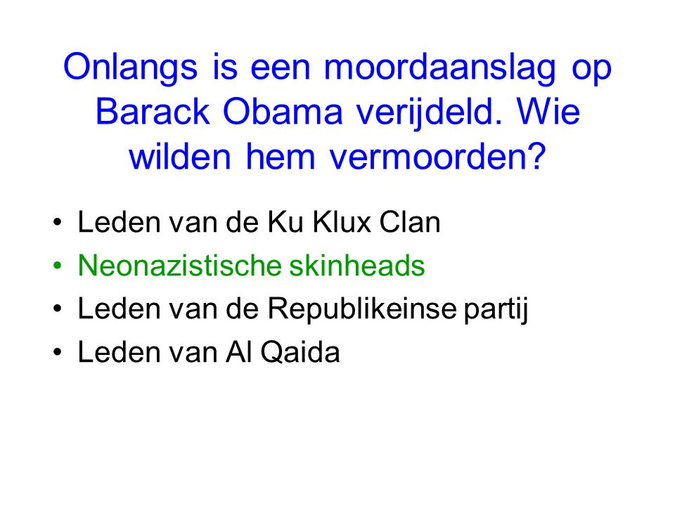 Waar staat W. voor in de naam George W. Bush ? Walker Winston William Walter