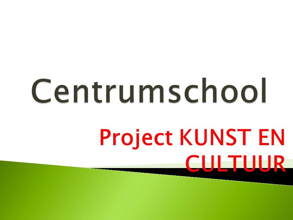 CULTUUR IN DE KLEUTERSCHOOL KUNST