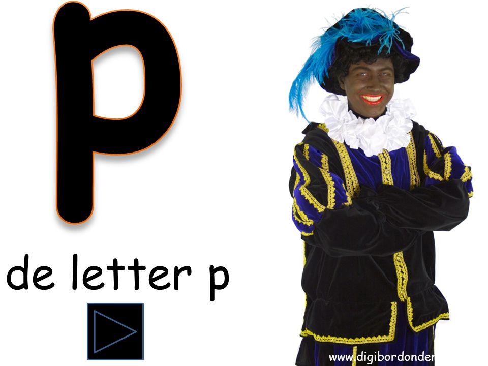 de letter p www.digibordonderbouw.nl