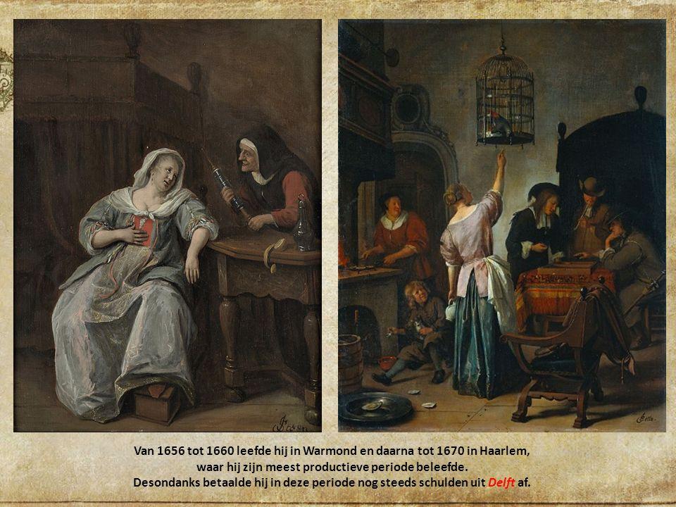 Van 1656 tot 1660 leefde hij in Warmond en daarna tot 1670 in Haarlem, waar hij zijn meest productieve periode beleefde.