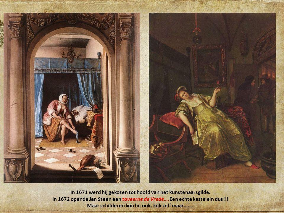 In 1671 werd hij gekozen tot hoofd van het kunstenaarsgilde.