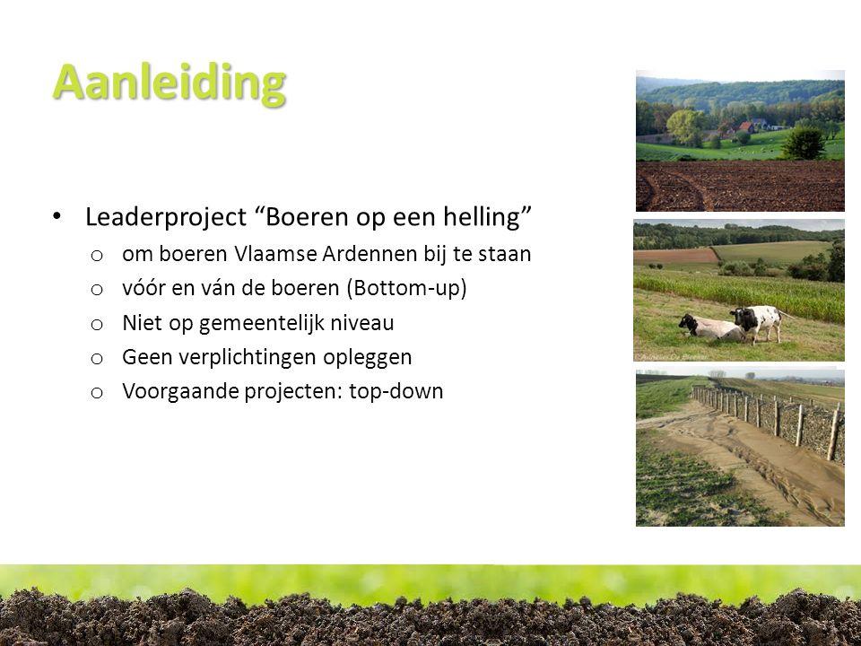 Situatie in de Vlaamse Ardennen