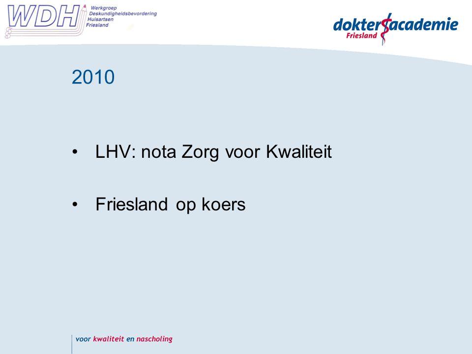 2010 concreet SDHF -> commissie kwaliteitsbeleid Gaia door Karin Meppelink ( betaald door: SDHF)