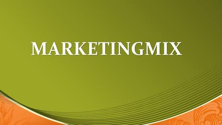 MARKETINGMIX.