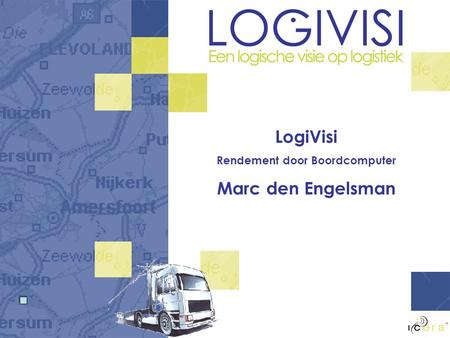 LogiVisi Rendement door Boordcomputer Marc den Engelsman.