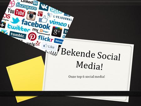 Bekende Social Media! Onze top 6 social media!. FaceTime!