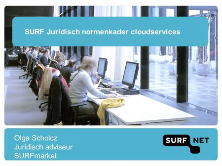 SURF Juridisch normenkader cloudservices