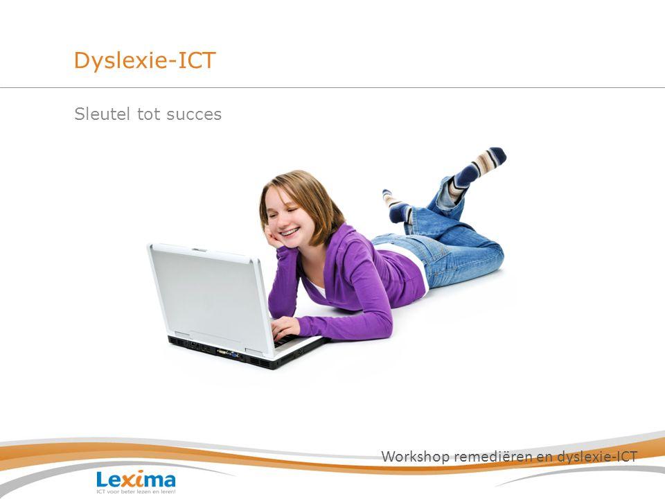 Programma Wanneer zet ik een dyslexie-ICT hulpmiddel in.