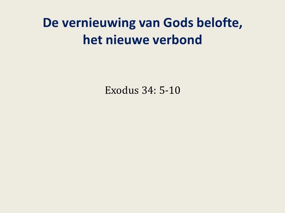 De Tien Geboden zijn de woorden van het verbon d Exodus 34: 28