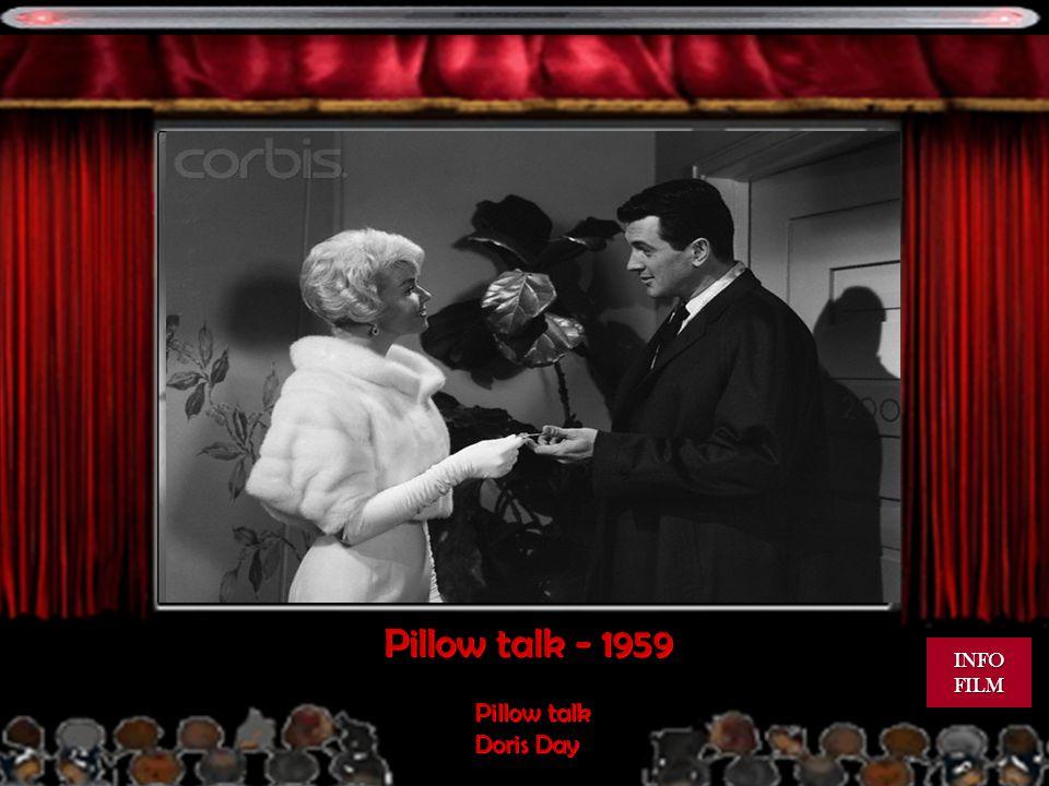 Pillow talk - 1959 Pillow talk Doris Day Pillow talk Doris Day INFO FILM