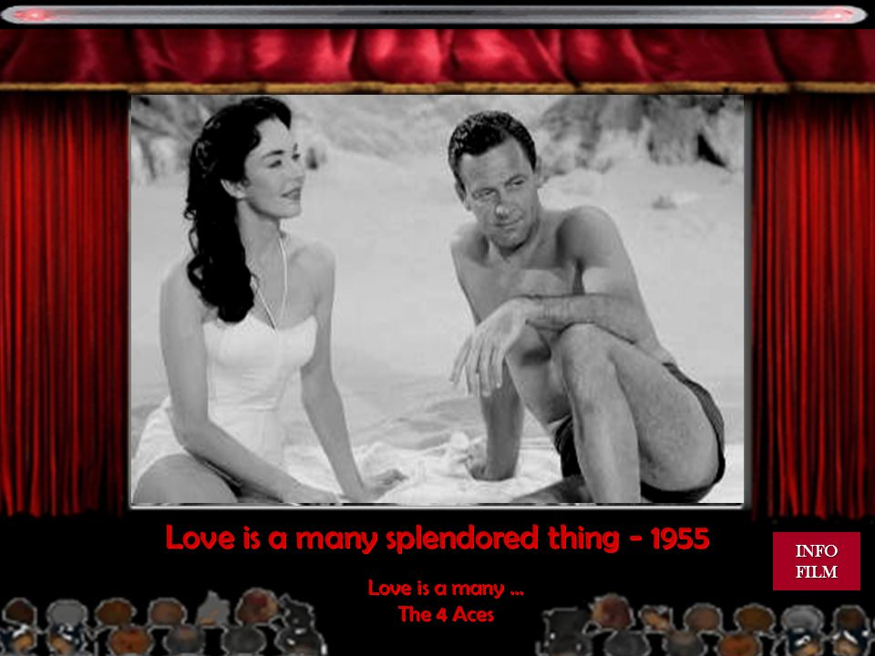 Love is a many splendored thing - 1955 Love is a many...