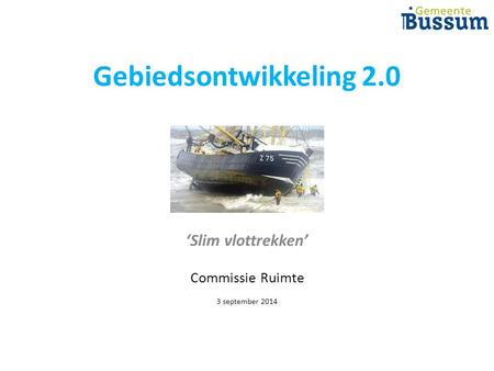 'Slim vlottrekken' Commissie Ruimte 3 september 2014