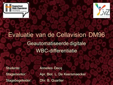 Evaluatie van de Cellavision DM96