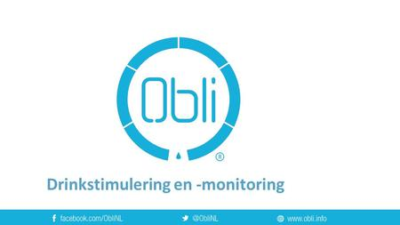 Drinkstimulering en -monitoring. Over Fresh Idea
