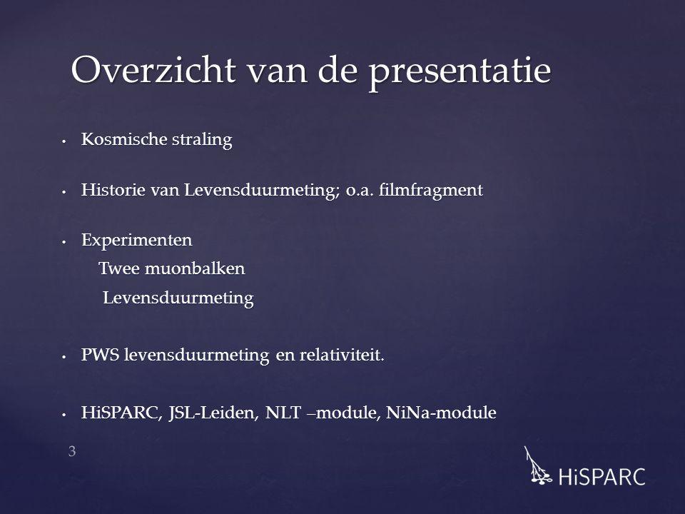 Meten van muonen http://www.scivee.tv/node/2415 4