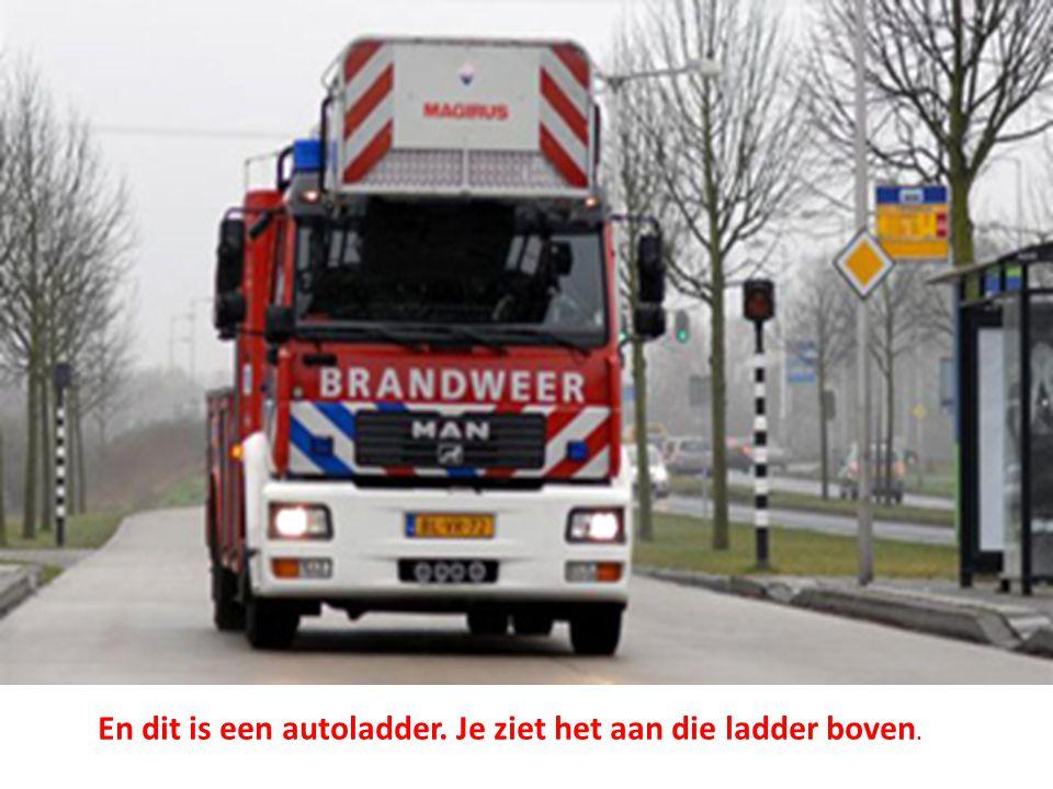 Hulpverleningsvoertuigen • Voor zware verkeersongevallen zijn er ook nog hulpverleningsvoertuigen.
