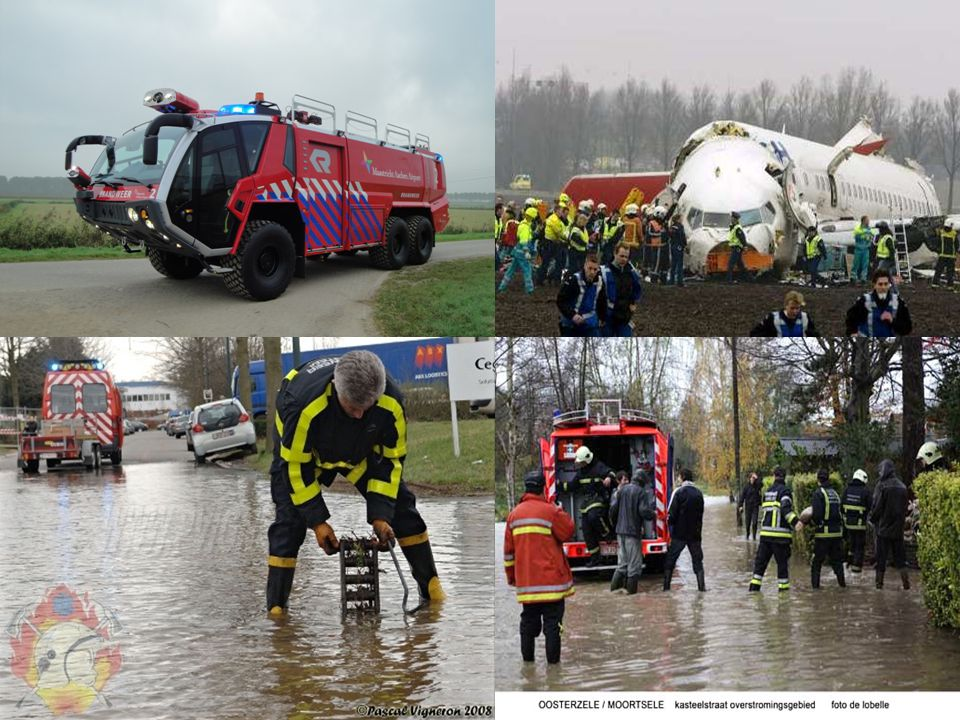 4.De geschiedenis van de brandweer • Heel vroeger was er geen brandweer.
