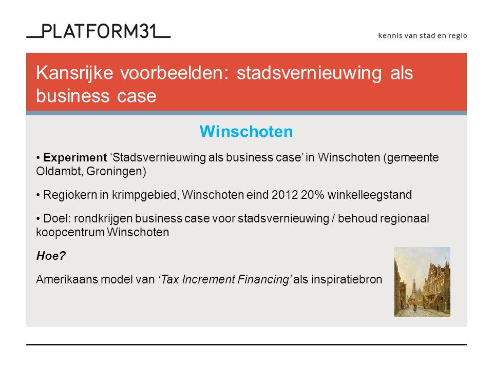 Model Tax Increment Financing