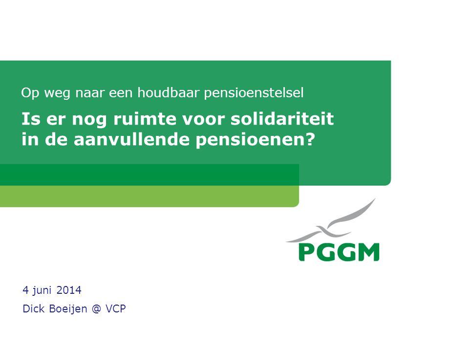 Thema van vandaag: risicodeling en/of herverdeling Uit de adviesaanvraag aan de SER, 4 april 2014: • Zijn risicodeling en herverdelende solidariteit in het pensioenstelsel wenselijk.