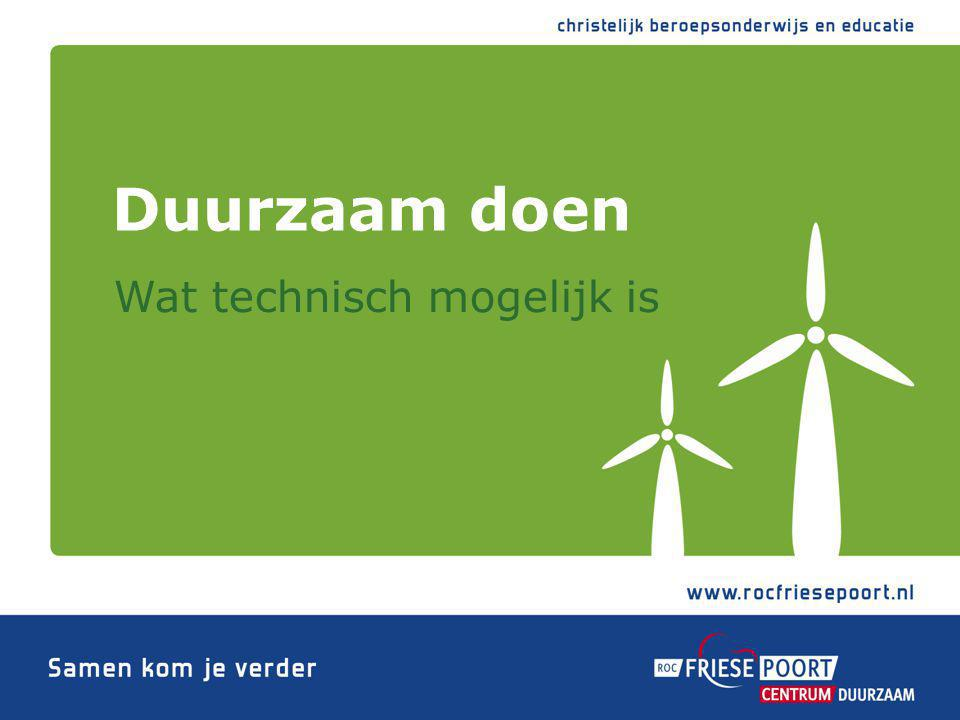 Jouko van der Mast 9 oktober 2012 Kick off Centrum Duurzaam