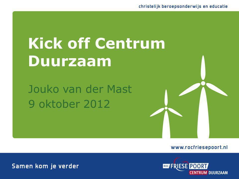 Centrum Duurzaam wordt mede mogelijk gemaakt door: