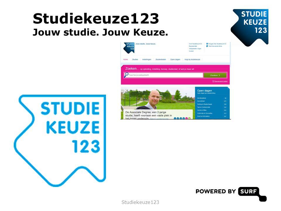 • Wat is Studiekeuze123? • Kiezen is een werkwoord • Zoek het uit! • Aan de slag! Programma